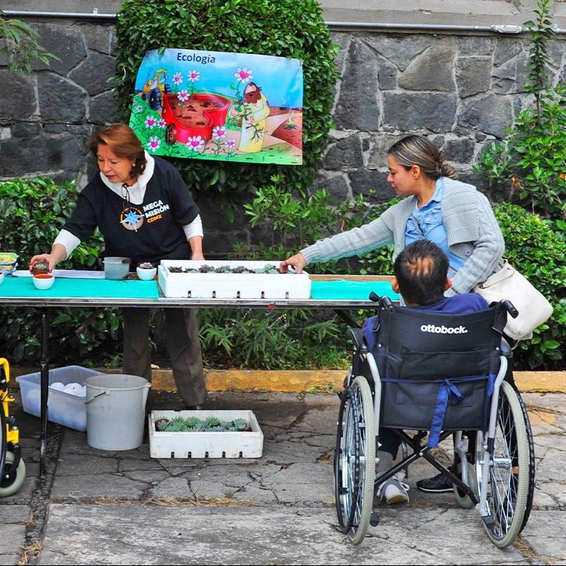 La inclusión de las personas con discapacidad es un reto para la sociedad. Foto: DLF