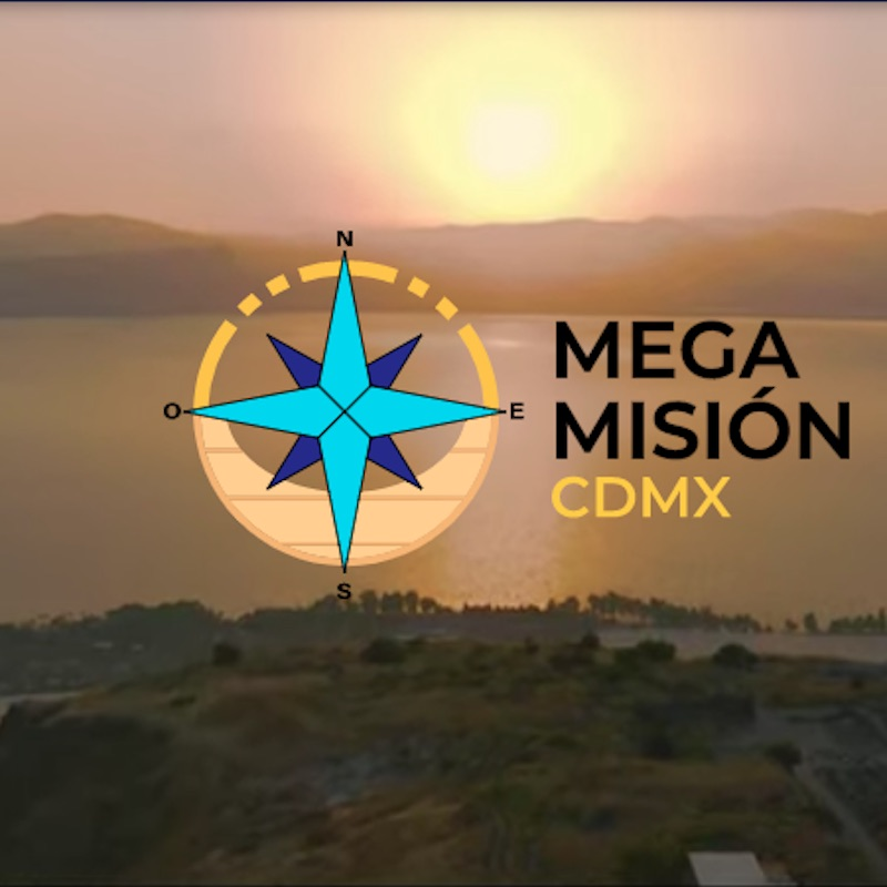 Este es el logotipo de la Megamisión. Foto: Megamisión