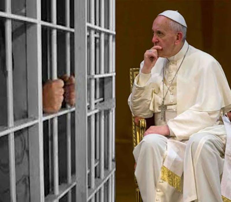 La oración que el Papa Francisco dedicó a las personas en reclusión. Foto: TVBus