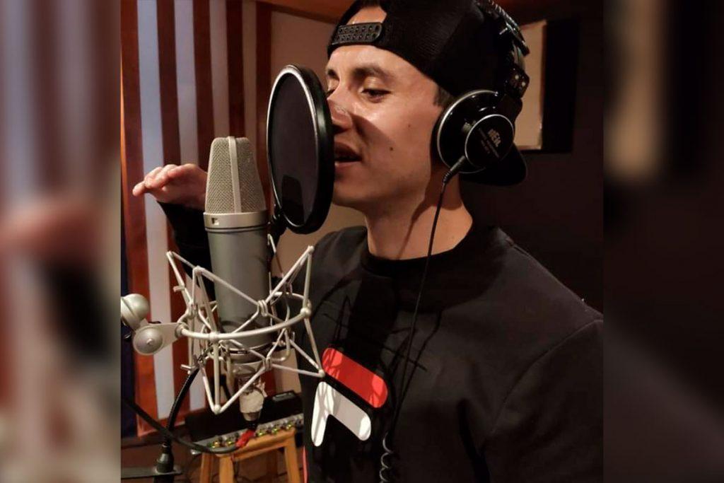 Eder Chávez es el compositor del rap de la Megamisión. Foto: Cortesía Eder Chávez
