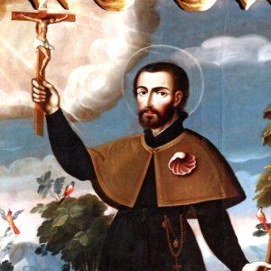 San Francisco Javier, el patrono de las misiones. Foto: Especial