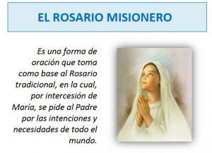 El Rosario Misionero - FOLLETO