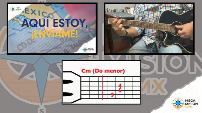 Himno Megamision Tutorial Guitarra