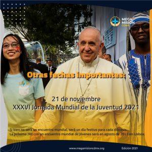 211121 MMCdMx Jornada Mundial de la Juventud
