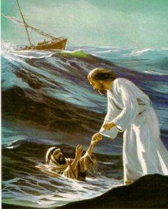 JESUS_Y_PEDRO_EN_EL_MAR