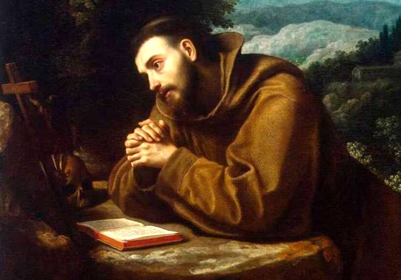 El poema de San Francisco de Asís, inspiró al Papa Francisco a escribir su encíclica Laudato si'. Foto: Cope
